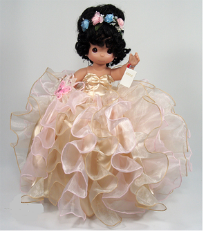 Quinceanera Precious Moments Doll, available all colors