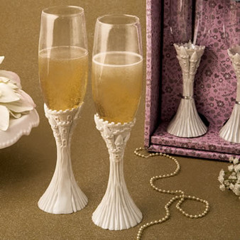 Princess - Cinderella Quinceanera Toasting Glasses