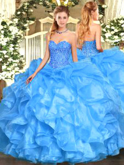 Blue Quinceanera Dress QSJQDDT1506002-1