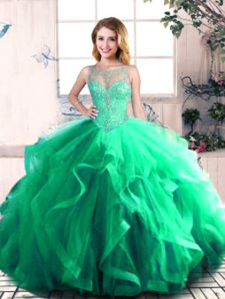 Green Quinceanera Dress  QSJQDDT2079002-7
