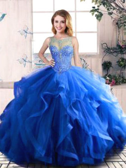 Royal blue Quinceanera Dress  QSJQDDT2079002-1