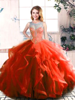 Red Quinceanera Dress  QSJQDDT2079002-4
