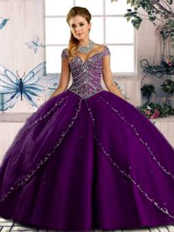 Purple Quinceanera Dress QSJQDDT2075002-6