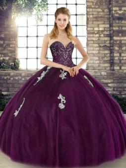 Purple Quinceanera Dress QSJQDDT2129002-3