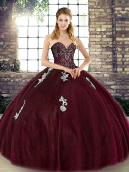 Wine Quinceanera Dress QSJQDDT2129002-4