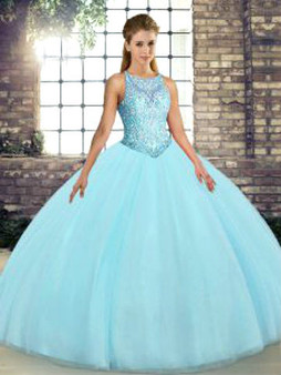 Aqua Quinceanera Dress QSJQDDT2117002-7