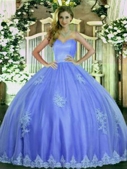 Blue Quinceanera Dress  QSJQDDT1701002-4