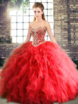 Red Quinceanera Dress QSJQDDT2119002-6