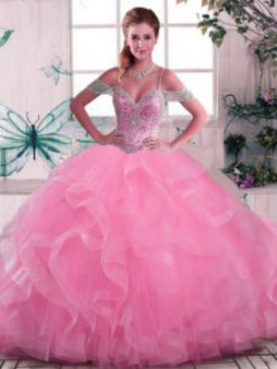 Pink  Quinceanera Dress QSJQDDT2072002-4