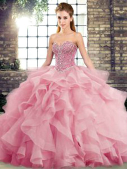 Pink Quinceanera Dress  QSJQDDT2123002-12