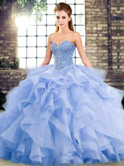 Blue Quinceanera Dress  QSJQDDT2123002-7