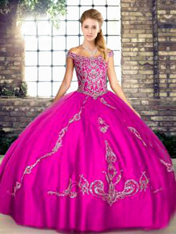 Fuchsia Quinceanera Dress QSJQDDT2103002-8