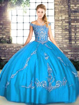 Blue Quinceanera Dress QSJQDDT2103002-5