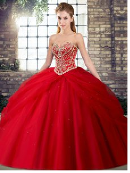 Red Quinceanera Dress  QSJQDDT2121002-3