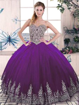 Purple Quinceanera Dress QSJQDDT2078002-2