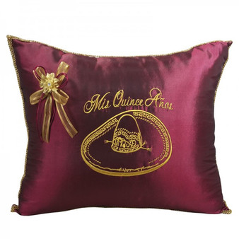 Quinceanera Tiara Pillow, Kneeling Pillow or Set