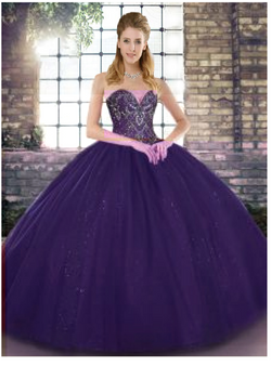 Purple Quinceanera Dress QSJQDDT2125002-3