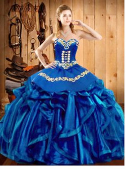 Royal Blue Quinceanera Dress QSJQDDT2032002