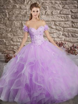 Delicate Lilac Quinceanera Dress