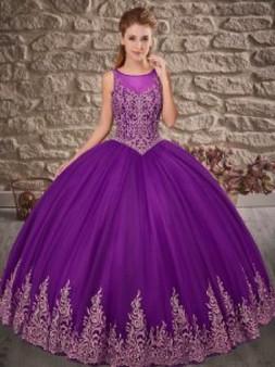 Purple Quinceanera Dress QSXFQD1529-7