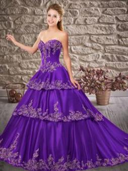 Purple Quinceanera Dress QSXFQD1532-12