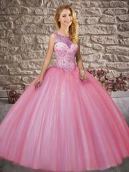 Pink Quinceanera Dress  QSXFQD1538-7