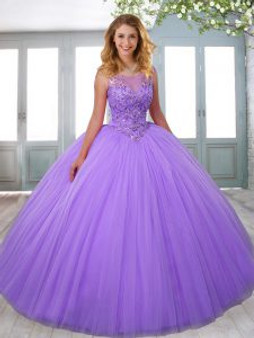 Beaded Lilac Quinceanera Dresses