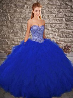 Sweetheart Royal Blue  Quinceanera Dress