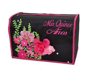 Charra Quinceanera Money Box   AK-358MB, available in many colors