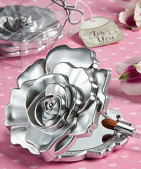 Rose design Compact Mirror Favor