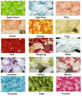 Rose Petals Bags -  15 Colors
