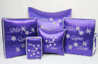 Winter Quinceanera Set, up to 7 pieces available in all colors