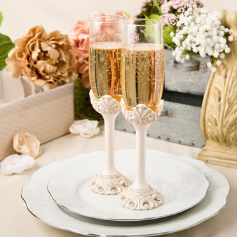 Elegant Quinceanera Toasting Glasses