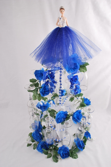 Spiral Quinceanera Toasting  Set , available in all colors