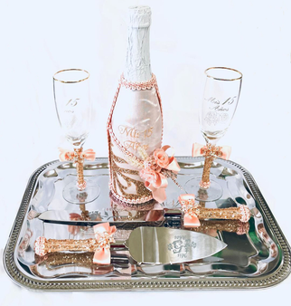Quinceanera Toasting  Set, available in all color