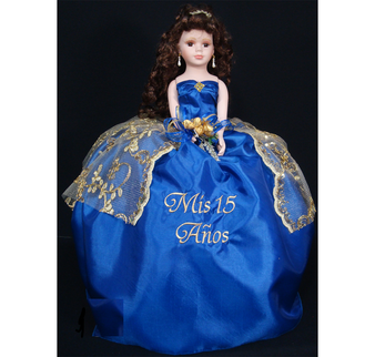 Quinceanera Doll,  AK-296D   available all colors