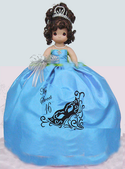 Quinceanera Precious Moments Doll