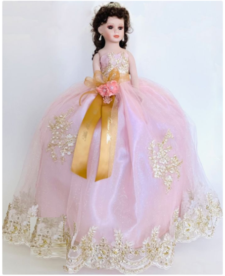 Quinceanera Doll available in all color AK-348D