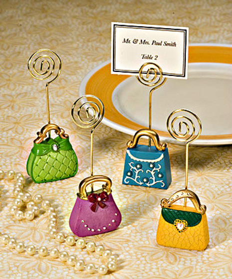 Super Chic Purse-Inspired Place Card Holders