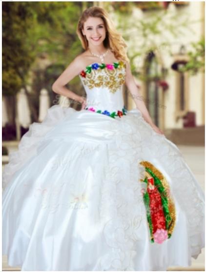 Virgen de Guadalupe Quinceanera Dress # QSXFQD1279