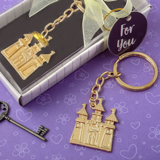 Gold Castle Keychain (as low as $ 1.15)