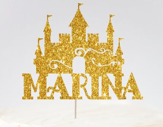 Castle Quinceanera Cake Topper, available in many colors