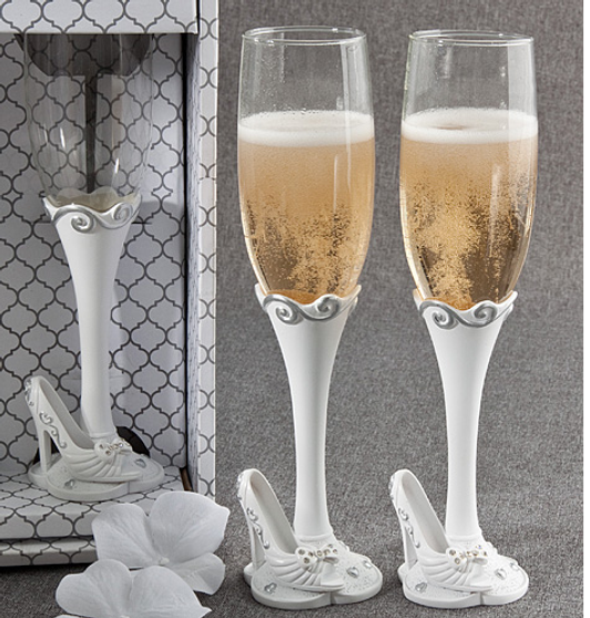 Fairytale Quinceanera Toasting Glasses