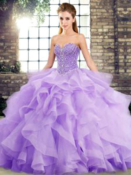 Lavender Quinceanera Dress  QSJQDDT2123002-9