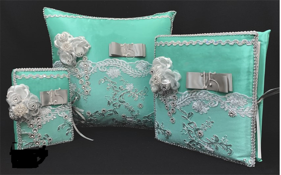 Aqua Quinceanera Set , up to 7 items available in all colors