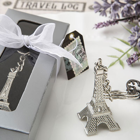 Eiffel tower metal key chains Favors (as low as $ 1.49)