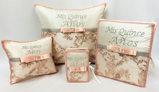 Quinceanera Set up to 7 Items available in all  colors AK-336S