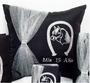 Quinceanera Pillows Set, Kneeling and Tiara quinceanera pillows