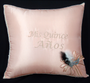 Blush Quinceanera Pillows Set. Two pillows