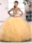 Champagne Quinceanera Dress QSJQDDT2072002-6